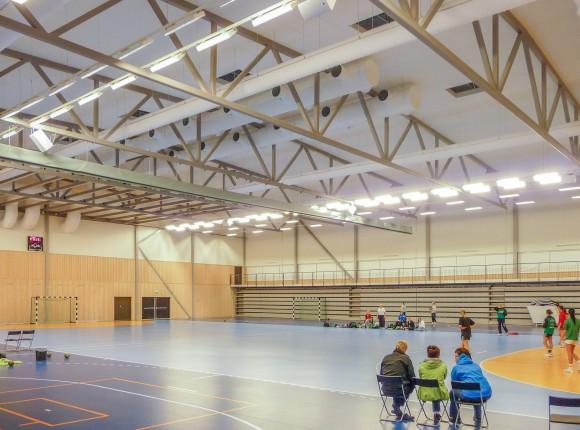 Sporthall, Boden