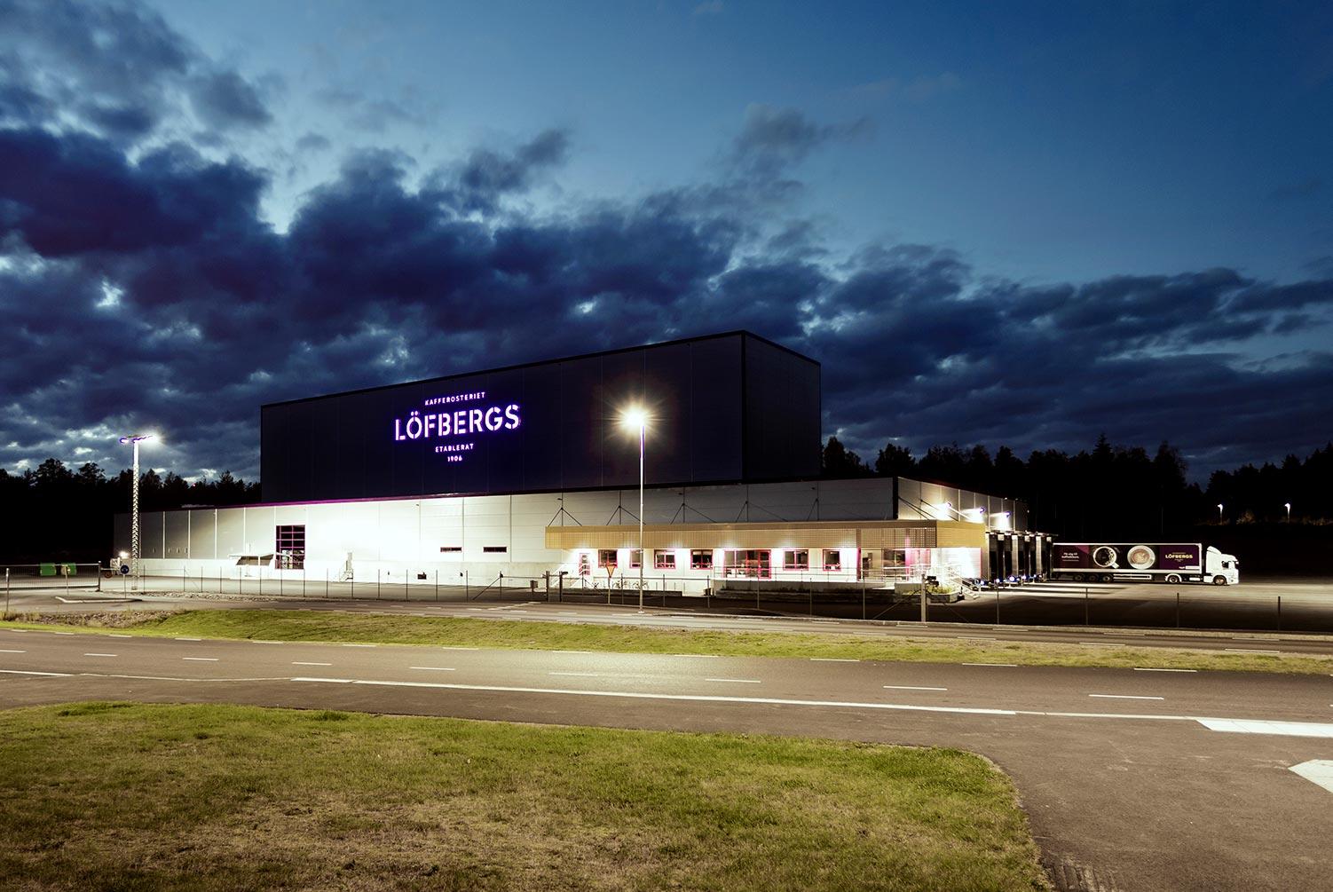 Löfbergs höglager Välsviken Karlstad